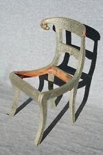 Stuhl, neuzeitlich, Indien, mit Metall beschlagen