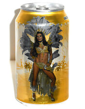 Sol Beer Carnaval Queen Beer Can 2016, Mexico, Empty, Hard To Find Bottom Opened