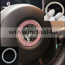 FOR VW VOLKSWAGEN BEETLE CAR STEERING WHEEL DIAMOND DECORATION RING TRIM STICKER