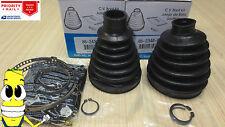 Front Inner & Outer CV Axle Boot Kit for Chrysler Aspen with 4x4 4wd 2007-2009
