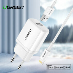Ugreen 5V2.1A USB Charger MFi USB Cable for iPhone Xs Max XR Mobile Phone