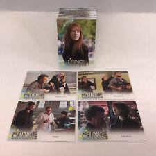 FRINGE SEASONS 3 & 4 (Cryptozoic) Complete Trading Card Set J.J ABRAMS Anna Torv