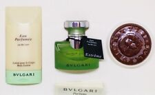 Bvlgari Eau Parfumee au the vert Extreme EDT Lotion Soap Vintage Set