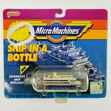 Micro Machines 7410 Ship In A Bottle #3 The Riverboat Dixie Galoob Vtg 1990