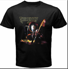 New ListingThin Lizzy Irish Rock Band Logo Men's Black T-Shirt Size S to 3Xl