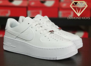 "Nike Women's Air Force 1 Sage ""Triple White"" (AR5339-100) Size 7-9.5"