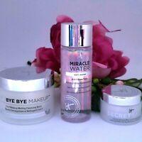 IT Cosmetics Secret Sauce Set Anti-Aging Moisturizer 0.5 + Miracle Water 1.7 oz
