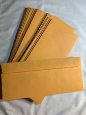 Pack of 25 #11 Brown Kraft Manila ENVELOPES - 4 1/2