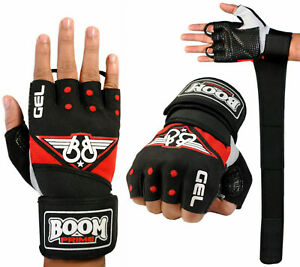 Weight Lifting Gloves Gel Neoprene Padded Gym Fitness Strength Training Workout
