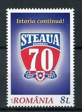 Romania 2017 MNH Steaua Bucharest 70th Anniv 1v Set Football Sports Stamps
