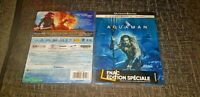 Aquaman 4K UHD + 3D+2D Blu-Ray Limited Edition FNAC Exclusive Rare Steelbook New