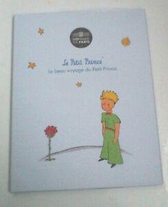 Livret Le petit Prince 50 euros Argent colorisée La rose 1016