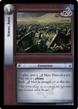 LOTR: Strong Arms [Ungraded] The Return of the King Lord of the Rings TCG Deciph
