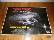 1.Original Videoplakat-XXL)-A0 -STAR TREK-THE NEXT GENERATION /MISSION EARPOINT