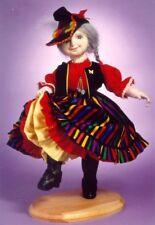 "*NEW* Cloth Art Doll CD Pattern ""Blossom"" By Gloria Winer"