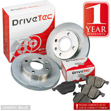 Renault Express 1.1 F401 F40H 44 Front Brake Pads Discs 238mm Solid Ben Sys Kit
