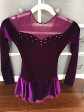 Chloe Noel Ice Figure Skating Dress Swarovski Crystals CXL/AXS