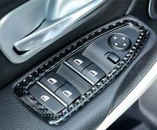 4x Carbon Fiber Window Lift Button Frame Trim For BMW F30 F32 318i 320i 325i 428