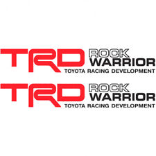 Toyota TRD Rock Warrior Tacoma Tundra Decal Stickers 2