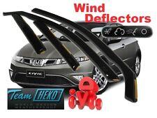 HONDA CIVIC MK8  5D 2005 - 2012 Wind deflectors 4 pc set  HEKO 17131