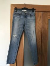 Women's J Brand Distressed Aidan Jeans Size 24 Good Condition