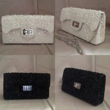 Buckle Patternless Unbranded Clutch Bags
