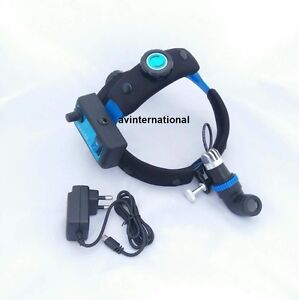 Led Medical Surgical Ent Headlamp With Rechargeable Battery