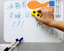 A3 A4 Home Office Refrigerator Fridge Magnet Magnetic Pen Eraser Whiteboard