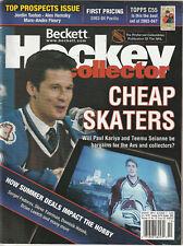 October 2003 Beckett Hockey Price Guide Paul Kariya / Teemu Selanne Colorado