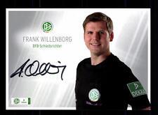 Frank Willenborg Autogrammkarte DFB Schiedsrichter Original Signiert+ A 133478