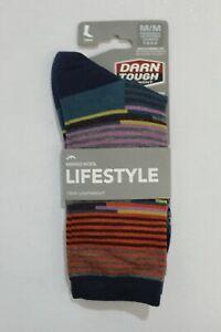Darn Tough Women's Pixie Crew Light Socks Multicolor Medium NWT