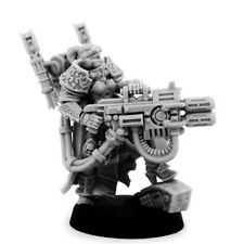 28mm-scale EMPEROR SISTER WITH HEAVY MELTING GUN