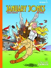 JANUARY JONES INTEGRAL #1 HC Gesamtausgabe ERIC HEUVEL + MARTIN LODEWIJK Storm