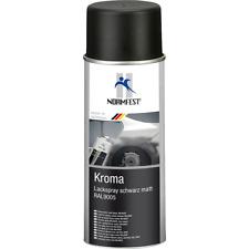 Normfest Kroma Lackspray Schwarz Matt Spray 400ml RAL9005 Autolack Mattschwarz