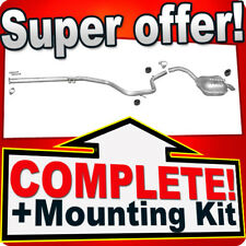 Ford Mondeo IV 1.8 2.0 TDCi without DPF since 07 Exhaust Silencer D29