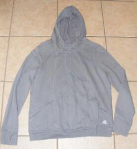 ADIDAS Youth Boys XL 18 / 20 Casual Wear Hoodie Hooded Thumbhole Sweat Shirt