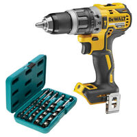 DeWalt DCD796 18V Brushless Combi Drill With P-46464 5 Pcs Hexagon Auger Bit Set