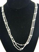 GIANI BERNINI $230 Silver Tone Necklace Chain Type Store Display SKU84C