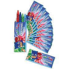 PJ Masks Birthday Party Supplies Favors Crayons 12 Packs