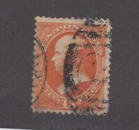 USA 1870 15c Orange Webster Sc#152 SG152a No Grill Fine Used JK985