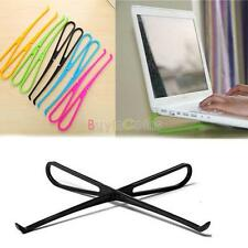 Useful Light Candy Color Laptop Notebook PC Cooling Pad Stand Holder Tool US DE