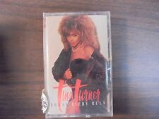 "NEW SEALED ""Tina Turner"" Break Every Rule  Cassette  Tape   (G)"