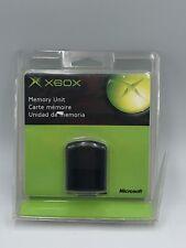 NEW Clamshell Sealed MICROSOFT XBOX Original 2001 OEM Memory Unit Card X08-25318
