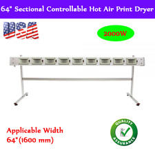 US! 2000W 64in Ceramic Heating Dryer System for Large Format Inkjet Printer