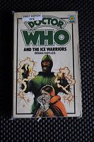 DR WHO AND THE ICE WARRIORS FIRST EDITION 1976 TARGET PAPERBACK BOOK