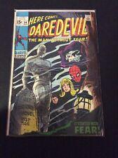 Daredevil #54 - Marvel Comics 1969 Spider-Man App.