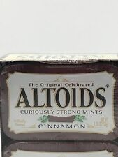 Altoids Cinnamon Curiously Strong Mints Candy 1.76oz Tins Bulk Pack of 12 Tins