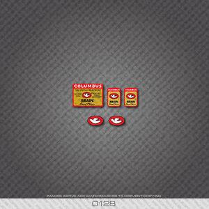 0128 Columbus Brain Custom Bicycle Stickers - Decals