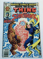 1980 MARVEL TWO IN ONE #61 ~ The Thing And Starhawk ~ Coming Of Her