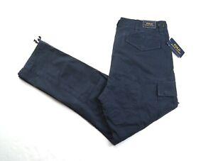 POLO RALPH LAUREN Men's Aviator Navy Classic Fit Surplus Utility Cargo Pants